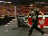 WWE RAW 23/02/09 Triple H and Randy Orton and The Legacy
