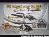 NEW RC 3CH MINI HELICOPTER HELICOPTERE SKYLARK2 CO-AXIAL