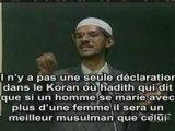 Zakir Naik -- Polygamie en Islam
