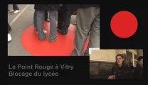 924  POINT ROUGE BLOCAGE AU LYCÉE DE VITRY