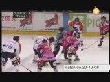 Match de hockey Amiens/Tours 13/01/09 3eme Tiers-temps