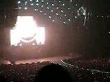 Début de concert AC/DC 25-02-09 Paris Bercy