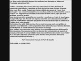 PCF et PG : la lettre au NPA