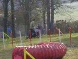 Entrainement d'agility 01/03/2009 Peps 3ème parcours