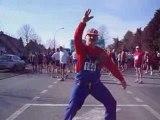 super mario au semi marathon de st gilles 2ème partie