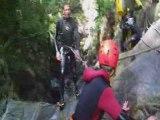 Canyoning et rappel avec Pyrenees-Trekking