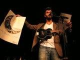 Hugh Coltman @ EMB les nuits d'Amnesty - speech