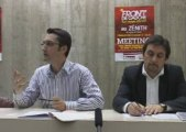 Conférence de presse PCF - Zénith front de gauche