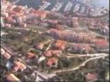 Viva Corsica ( prises de vues par hélicoptere sur calvi)