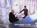 """Jean-Marie Le Pen dans """"C à dire"""" sur France5 2/3/2009"""
