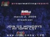 Pro Wrestling Report on ESPN Radio - March 2, 2009