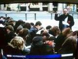 Universite Caen - cours en ville - 3 mars 2009