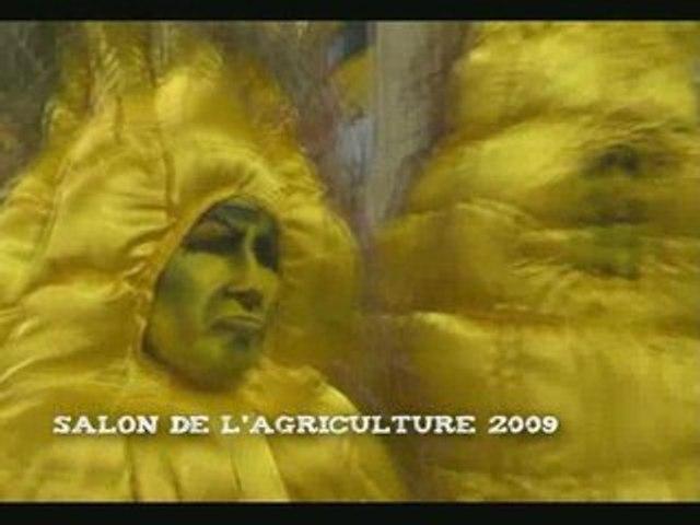 Des maïs géants s'incrustent au salon de l'agriculture !