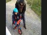 Repas & 1er tour de vélo