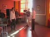 Session jumpstyle au porte ouverte du lycée Arthur rimbaut