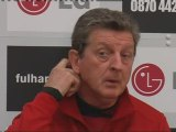 Roy Hodgson looks forward to the visit of Manchester United