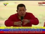 Chavez (Invita a Obama a que una al socialismo)