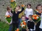 Des fleurs pour la classe de neige !