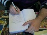 Edouard dédicace son livre 07-03-2009 Caen