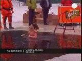 Baignade d'hiver en Russie