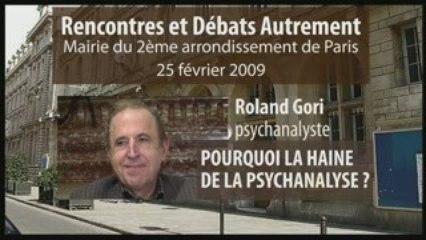 Roland Gori aux Rencontres et Débats Autrement