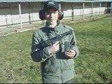 tir au pistolet desert eagle 44 magnum sur quilles 10 mètres