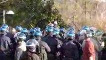 Lyon-manif du lundi 9 mars-violences policières