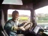 Video d'un chauffeur roumain