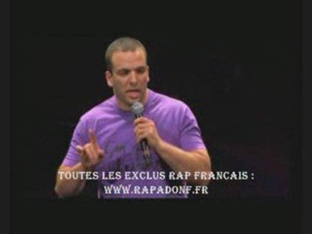 Il se moque des rappeurs Sefyu, 113, Sniper www.rapadonf.fr