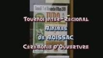 JUDO Tournoi de MOISSAC  Cérémonie Ouverture