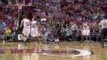 NBA Dwyane Wade's amazing night against the Bulls