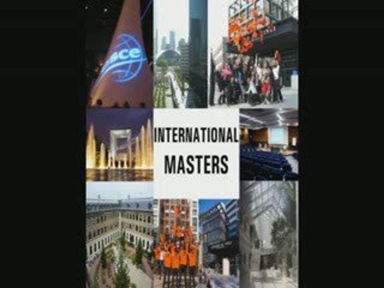 International Masters interviews - PARIS