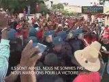 Manifestants à la maison des syndicats 06/03/09