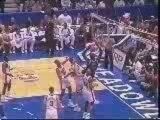 NBA-Slam Dunks - Shaquille O'Neal Breaks Basket