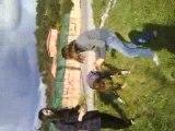 Bataille d'herbes