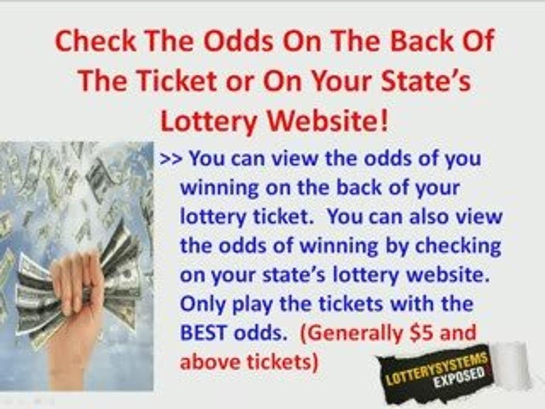 Win Scratchers Lottery Secrets - Win The Scratch Off Lott