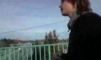 Lucas sur le pont