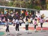 Inauguracion juegos deportivos en el Colegio Betania