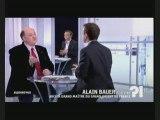Franc-Maçonnerie - Alain Bauer sur le livre de S. Coignard