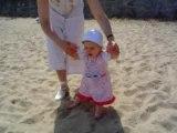 Premiers pas dans le sable