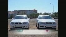 BMW 135i vs 120d