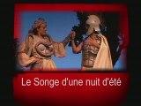 """Menu du dvd du spectacle """"LE SONGE D'UNE NUIT D'ÉTÉ"""""""