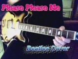 Please Please Me Beatles cover sur Epiphone casino & Viola