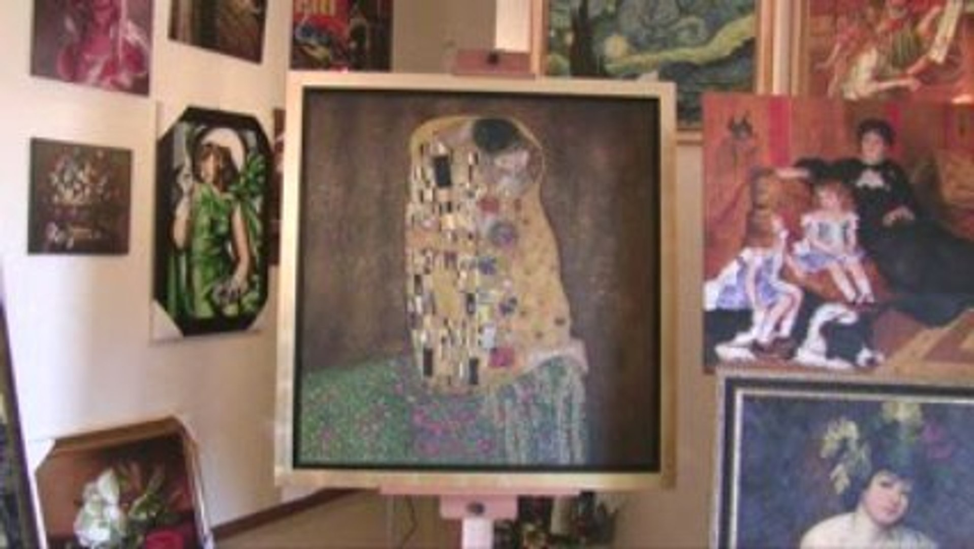 video gallery HD - The Kiss - Gustav Klimt