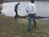 Au lac de maurepas