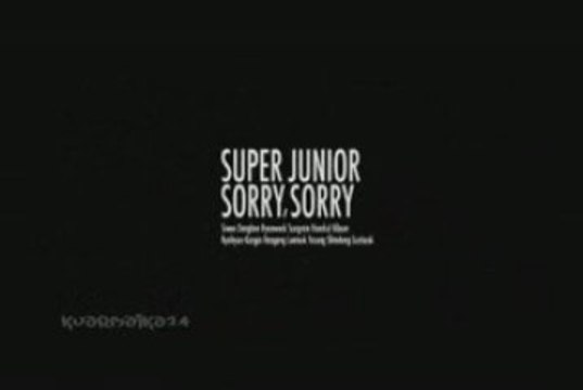 Super Junior - Sorry Sorry [romanizations + eng sub]