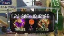 LFB 2008/2009 J21:TARBES/CHALLES-LES-EAUX