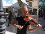 Musicos Callejeros - El Violinista Invisible