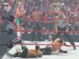 Mysterio & Cristian & Finlay vs Kane & The Miz & Morrison