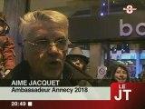 J.O d'hiver de 2018 : Bonlieu célèbre Annecy!